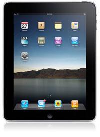 Photo of an iPad