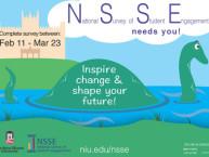 NSSE survey poster