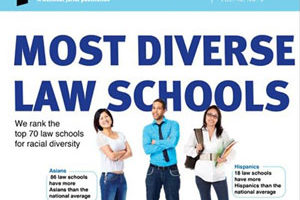 Cover of preLaw: Most Diverse Law Schools