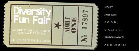 Diversity Fun Fair ticket