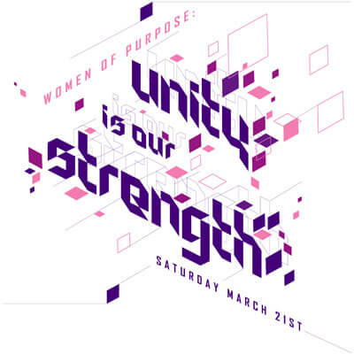 Unity is Our Strength conference logo