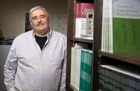 Newly named NIU Board of Trustees Professor. Credit: Scott Walstrom, NIU