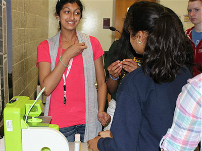 Students explore 3D printing at EEP summer camp