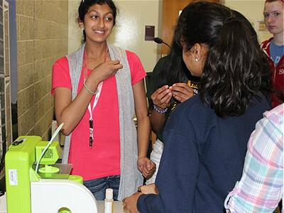 Students explore 3D printing at EEP summer camp