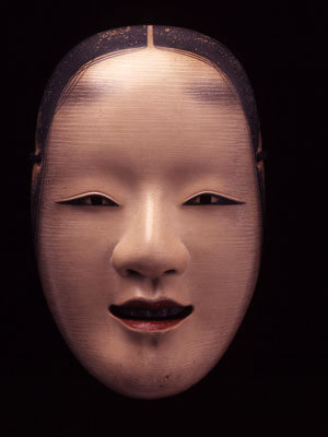 Bidou Yamaguchi. Zō-onna (Middle-Age Woman),1998.Japanese cypress, seashell, natural pigment, Japanese lacquer; (8.27x5.31x2.76 in.). Courtesy of Kelly Sutherlin McLeod and Steve McLeod Collection. © Bidou Yamaguchi.