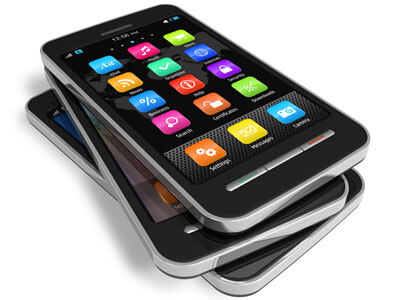 Photo of cellphones