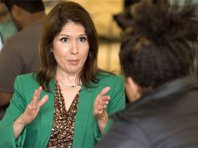 Illinois Lt. Gov. Evelyn Sanguinetti