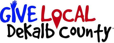 Give Local DeKalb County logo