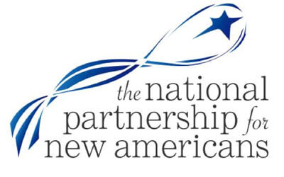 Logo of the National Partnership for New Americans