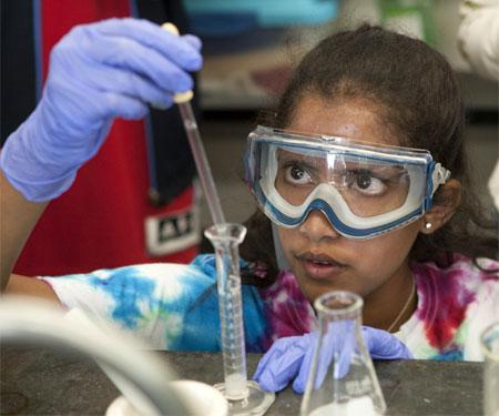 STEM science camp