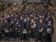 The NIU College of Law conferred 101 degrees at its May 24, 2015 commencement ceremony at Sandburg Auditorium.
