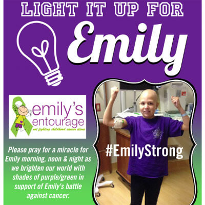 Light It Up For Emily
