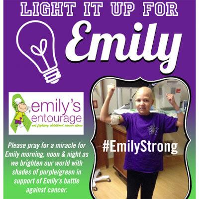 Light It Up For Emily
