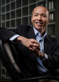 Brilliant founder and CEO Jim Wong