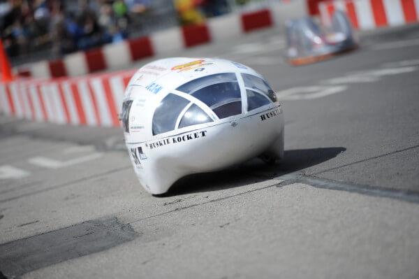 The Huskie Rocket has undergone an overhall since the Detroit Eco-marathon