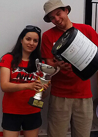 NIU Supermileage captured third place in the international competition, second in the U.S.