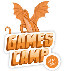 Games Camp Just For Girls logo