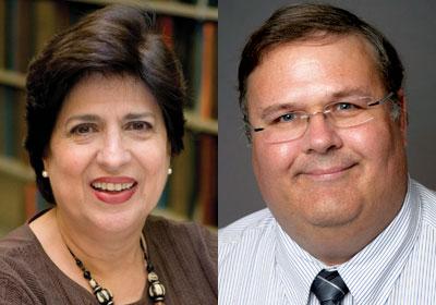 Ofelia Garcia and Wayne Wright