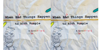 "Book cover of ""When Bad Things Happen to Rich People"""