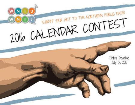 Northern Public Radio 2016 Calendar Contest logo