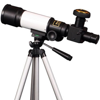 Photo of a telescope