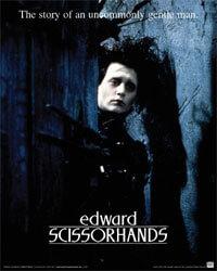 """Edward Scissorhands"" poster"