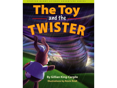 """Book cover of """"The Toy and the Twister"""""""
