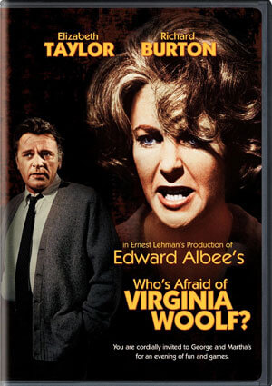 "DVD cover: ""Who's Afraid of Virginia Woolf?"""
