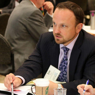 Jonathan Furr, director of the NIU Office of Education System Innovation, provided an updated on state policy.