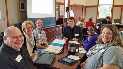 Members of the Program Prioritization Academic and Administrative Task Forces spent two days in early September training on program evaluation and getting to know each other.