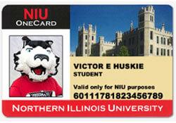 Victor E. Huskie's OneCard