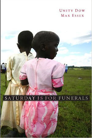 "Book cover of ""Saturday Is For Funerals"""