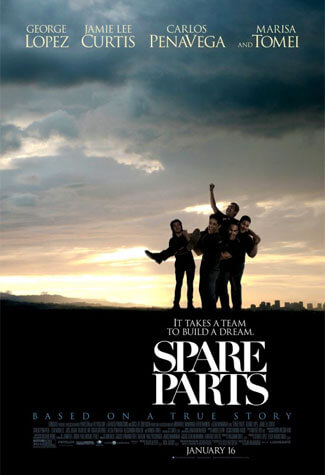 "Movie poster for ""Spare Parts"""