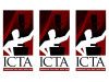 Logo of the Illinois Communication and Theatre Association
