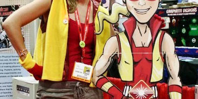 Thompson will appear as her comic book creation Spectra during STEMfest.