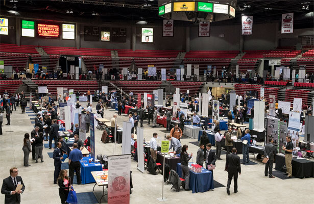 NIU Career Fairs: Spring 2015