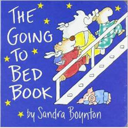 "Cover of ""The Going to Bed Book"" by Sandra Boynton"