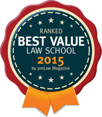 Best Value Law School 2015
