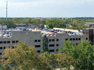 NIU parking deck