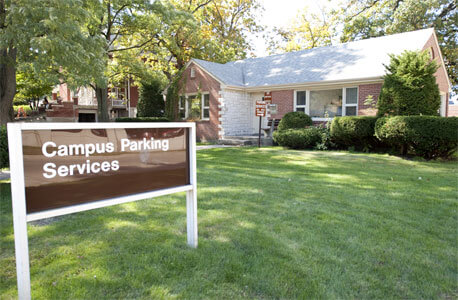 Campus Parking Services building