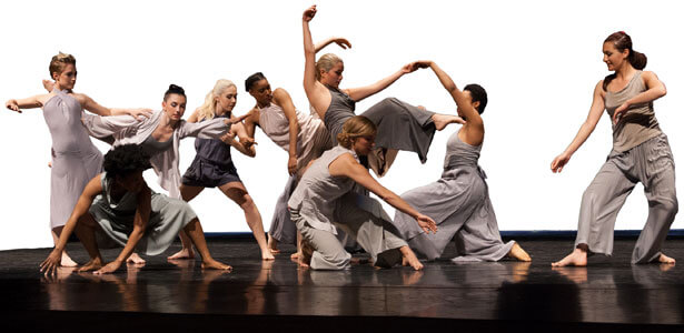 NIU dance students