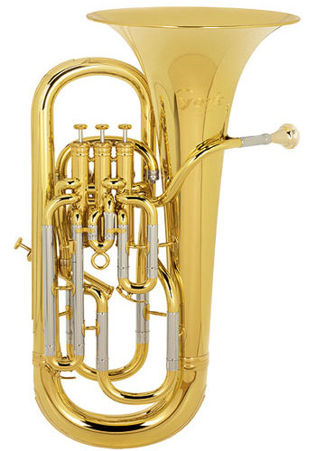 Photo of a baritone horn
