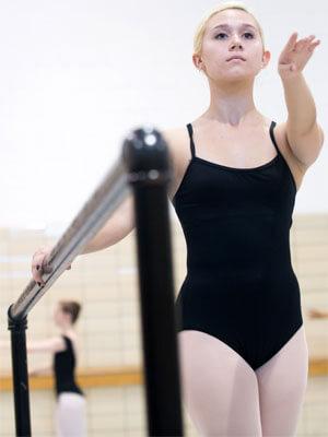 An NIU dance student