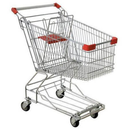 Photo of a shopping cart