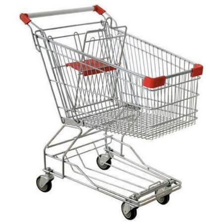 Photo of a shopping cart