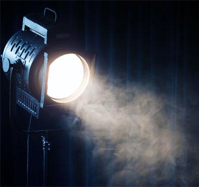 Photo of a spotlight