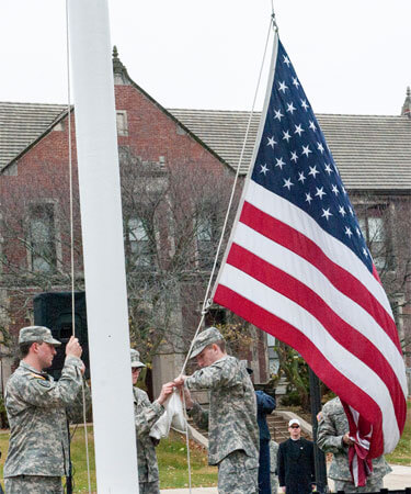 Veterans Day 2014 at NIU