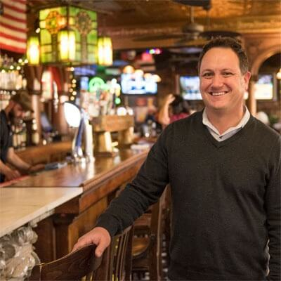 "Jeff Dobie, owner of Fatty's Pub and Grille: ""It would be hard to support a business of our size if not for the university."""