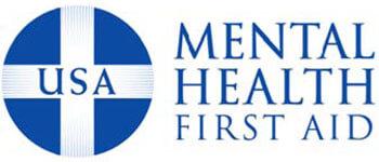 USA Mental Health First Aid logo