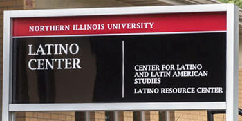 Latino Resource Center sign